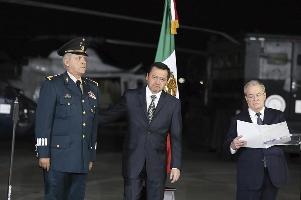 """Photo of """"El Gabinete de Seguridad, tiene la instrucción de ir con toda la fuerza del Estado por los delincuentes que le roban la tranquilidad a la ciudadanía de nuestro país"""": Rubido García"""