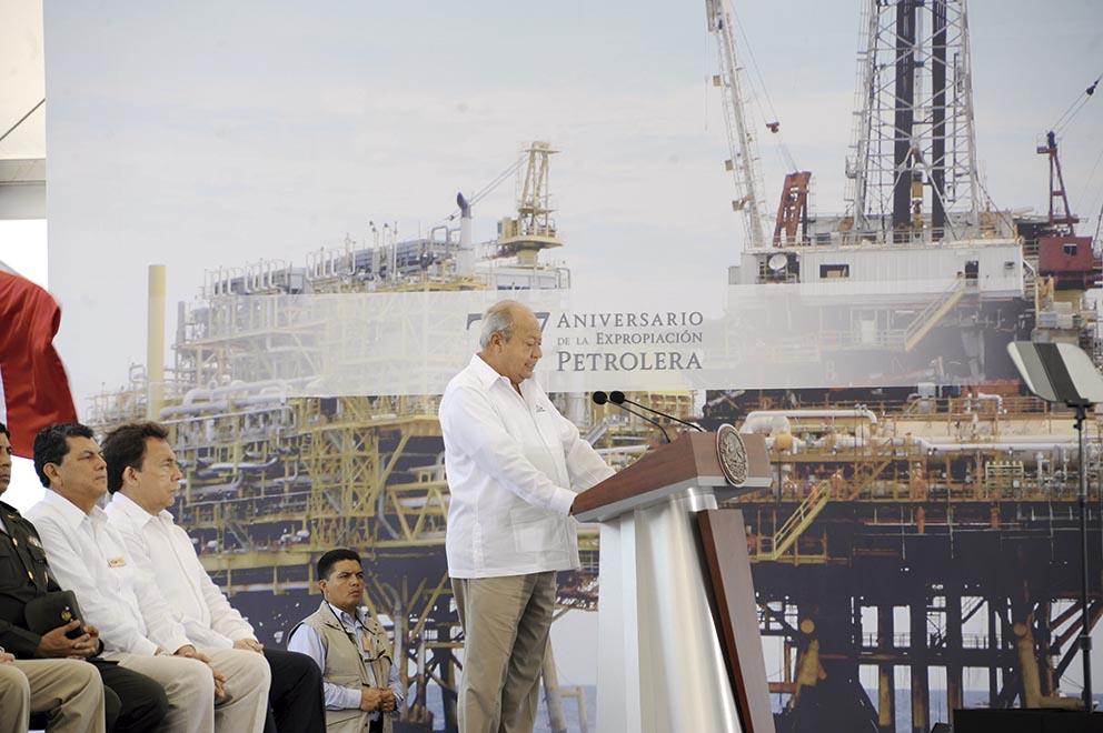 """Photo of """"No hay tales compromisos para liquidar a miles de trabajadores de PEMEX"""", expresa Carlos Romero Deschamps, Secretario General del STPRM"""