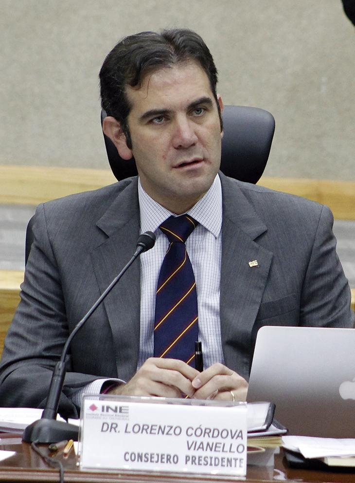 """Photo of """"Jornada Electoral histórica"""", dice Lorenzo Córdova Vianello"""