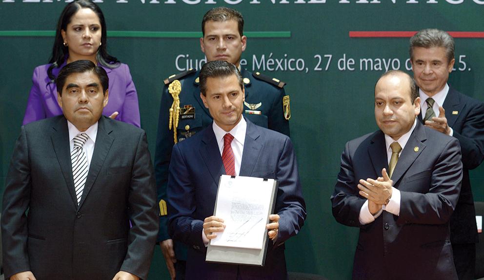 Photo of Promulga el Presidente Enrique Peña Nieto la Reforma Constitucional para crear el Sistema Nacional Anticorrupción