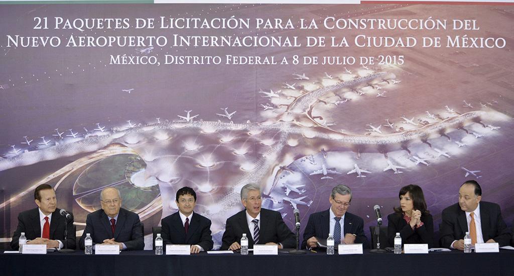 Photo of Anuncia SCT 21 paquetes de licitaciones por 95 mil millones de pesos para construir el Nuevo Aeropuerto de la Ciudad de México