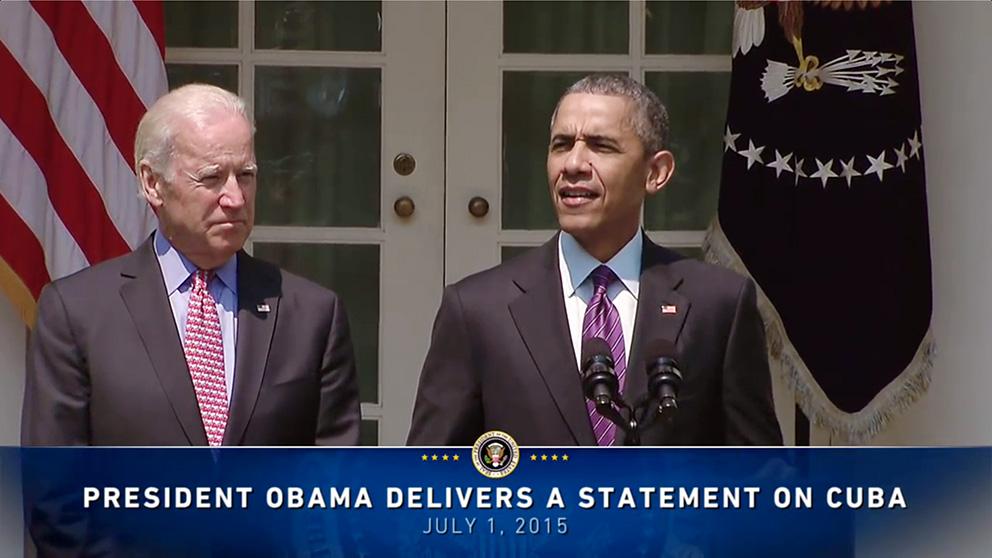 Photo of El Presidente Barack Obama restablece las relaciones diplomáticas con Cuba y anuncia la apertura de las Embajadas de ambos países