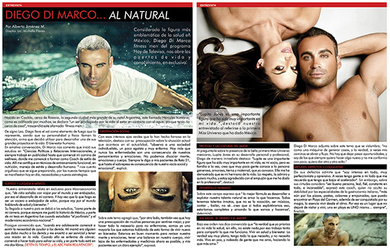 Photo of Diego Di Marco… al natural