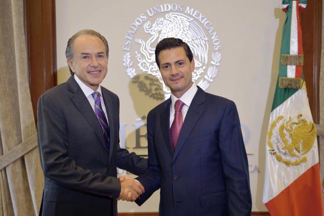 Photo of El Presidente Enrique Peña Nieto recibió a gobernadores electos de Nuevo León, San Luis Potosí y Querétaro
