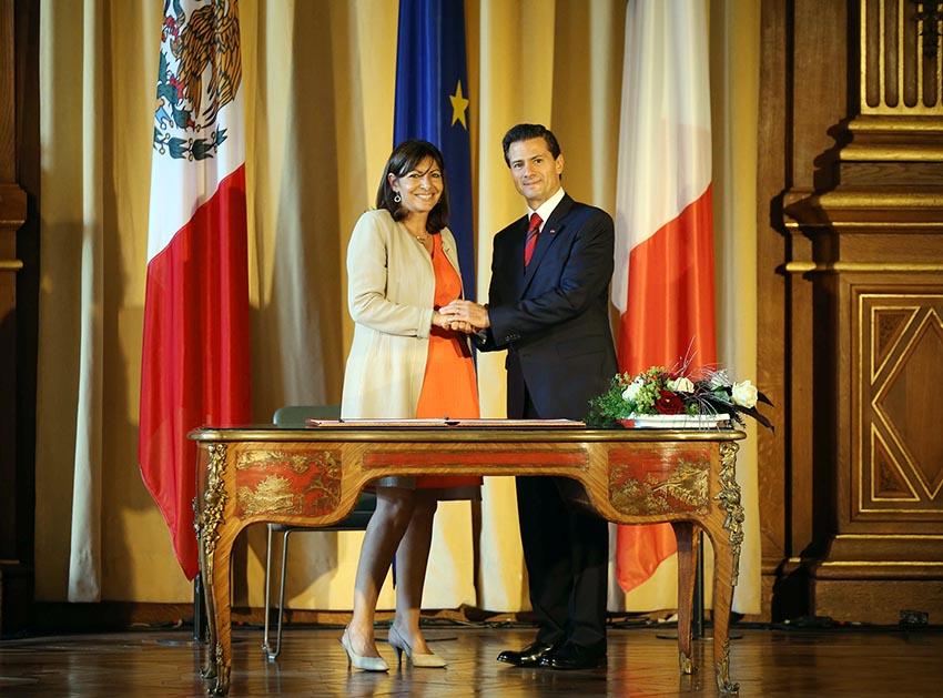 """Photo of """"Franceses y mexicanos tenemos juntos un gran futuro, cimentado en valores compartidos y sólidos lazos de amistad"""": Enrique Peña Nieto"""