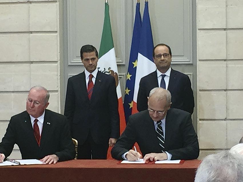 Photo of Firman Cooperación Espacial Francia México en pro del Medio Ambiente, Clima y Océanos