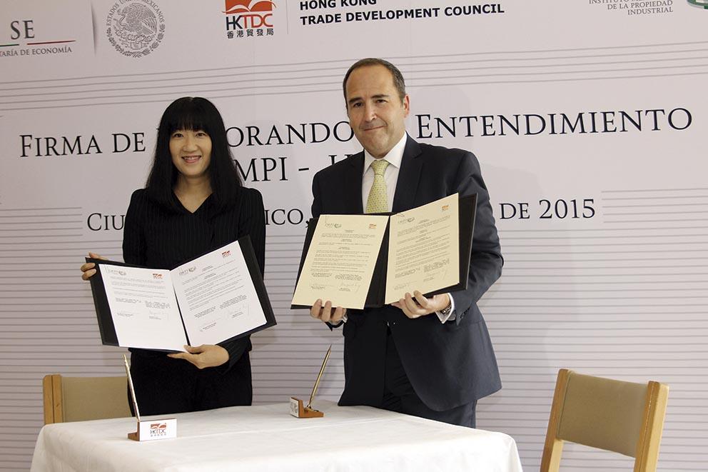 Photo of El Consejo para el Desarrollo Comercial de Hong Kongy el Instituto Mexicano de la Propiedad Intelectual firman memorandum de entendimiento