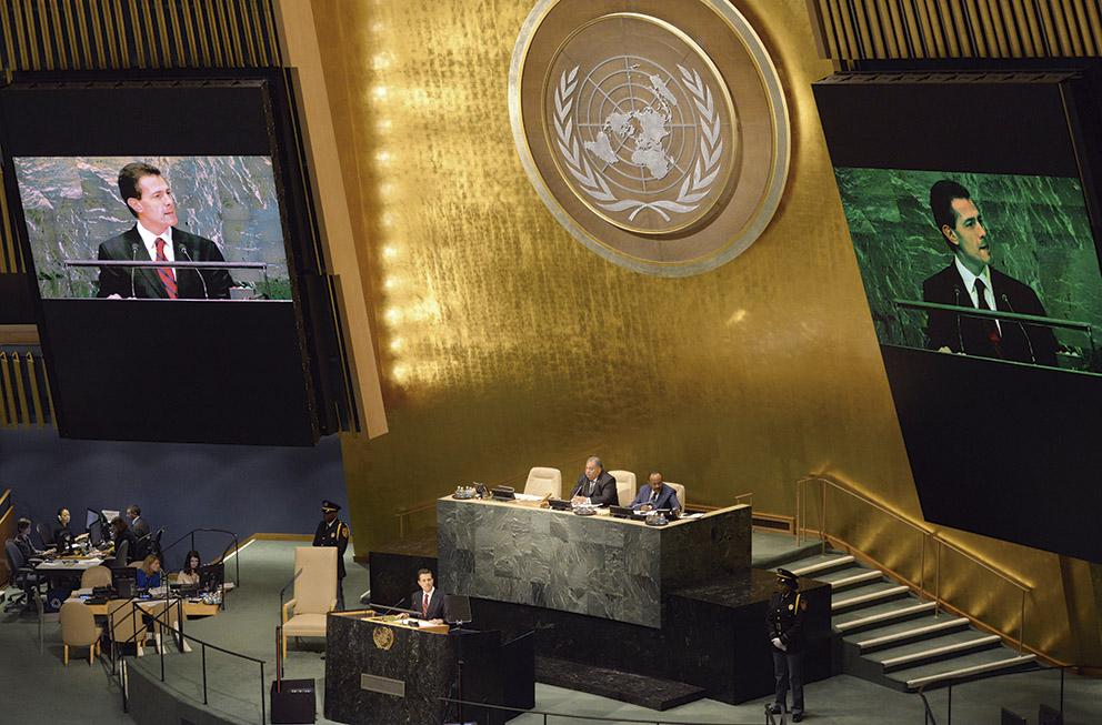 Photo of La ONU da la bienvenida al Presidente Enrique Peña Nieto