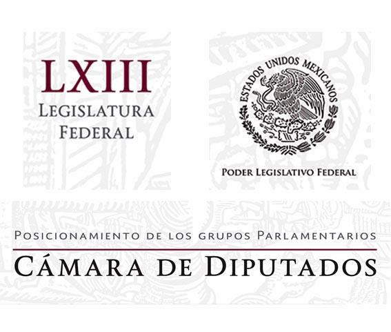 Photo of Posicionamiento de los Grupos Parlamentarios de la Cámara de Diputados LXIII Legislatura Federal