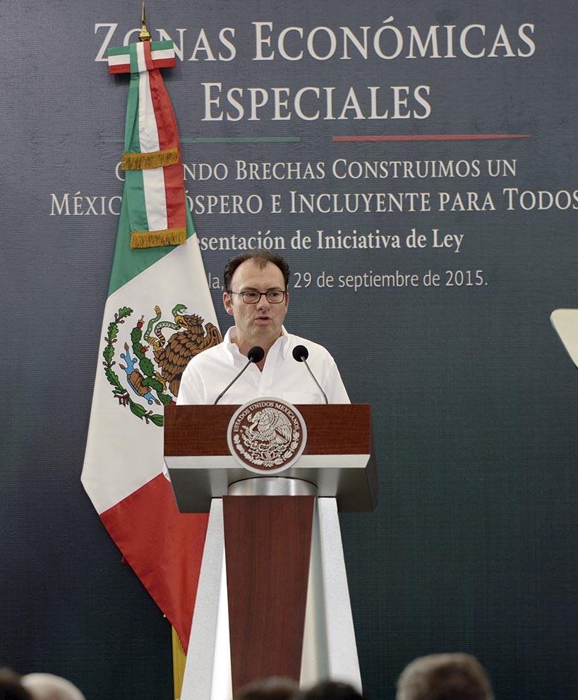 """Photo of """"Con las Zonas Económicas Especiales vamos por la productividad en el sur de la República"""": Luis Videgaray"""