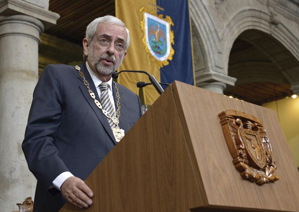 """Photo of """"La UNAM, Institución pública autónoma de excelencia"""": Enrique Luis Graue Wiechers"""