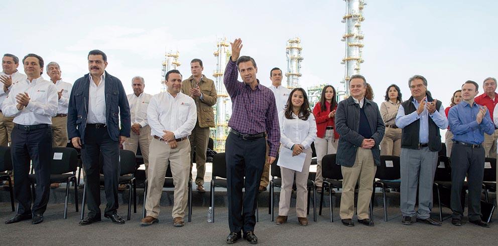 Photo of Anuncia el Presidente Enrique Peña Nieto inversiones verdes de Pemex por 23 mil millones de dólares