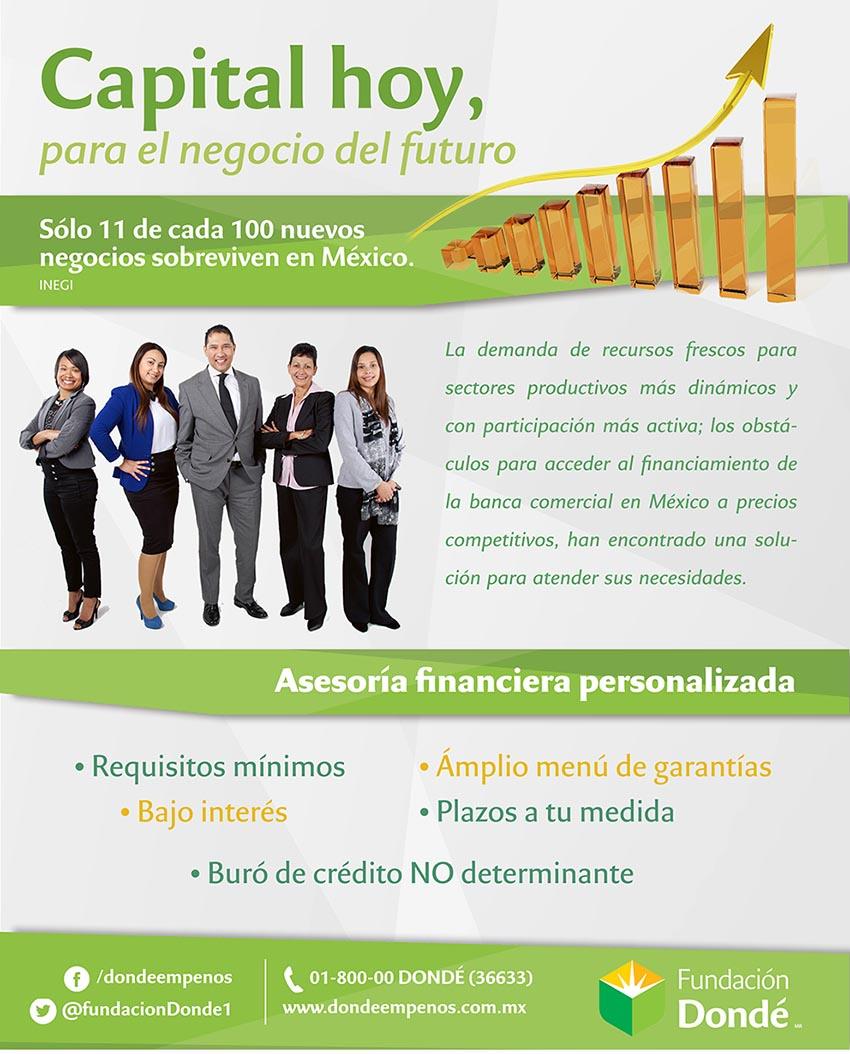 Photo of Capital hoy, para el negocio del futuro