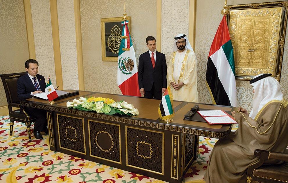 Photo of Suscribe Pemex Memoranda de Entendimiento con tres petroleras árabes