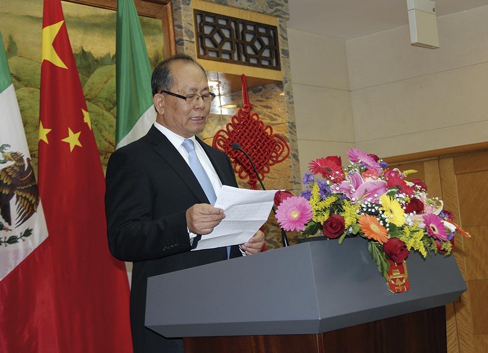 """Photo of """"Las relaciones China-México, en su mejor momento"""", dice el Embajador Qiu Xiaoqi"""
