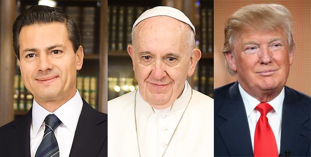 """Photo of El Papa Francisco """"¿peón de México?"""""""