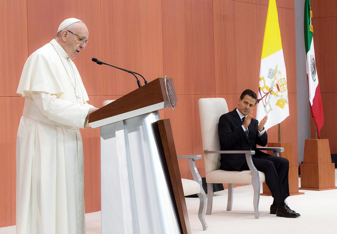 """Photo of """"México: País de Jóvenes"""": dice el Papa Francisco en Palacio Nacional"""