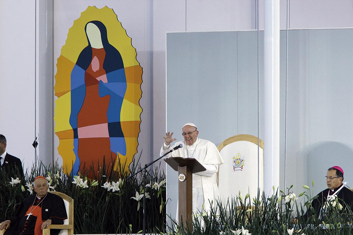 """Photo of En Morelia, el Papa exalta al """"Tata"""" Vasco, protector de los indios tarascos y purépechas"""