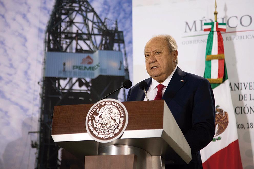 """Photo of """"Los trabajadores de PEMEX actuamos con institucionalidad"""": Carlos Romero Deschamps, Secretario General del STPRM"""