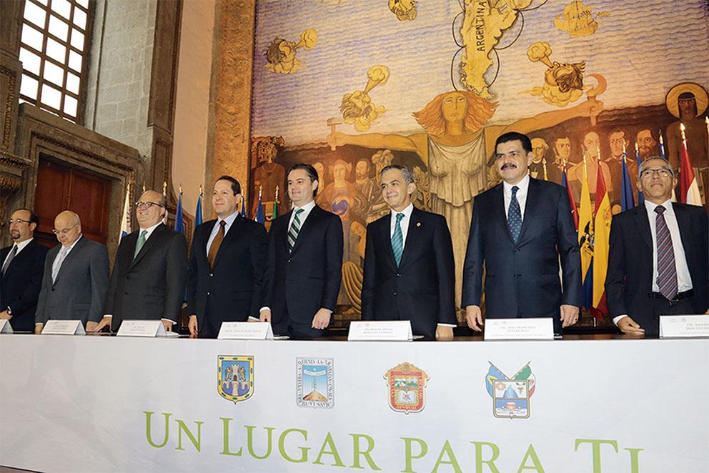 """Photo of Nuño y cuatro Gobernadores ofrecen """"lugar para todos"""" en Universidades de CDMX; EDOMEX; Hidalgo y Morelos"""
