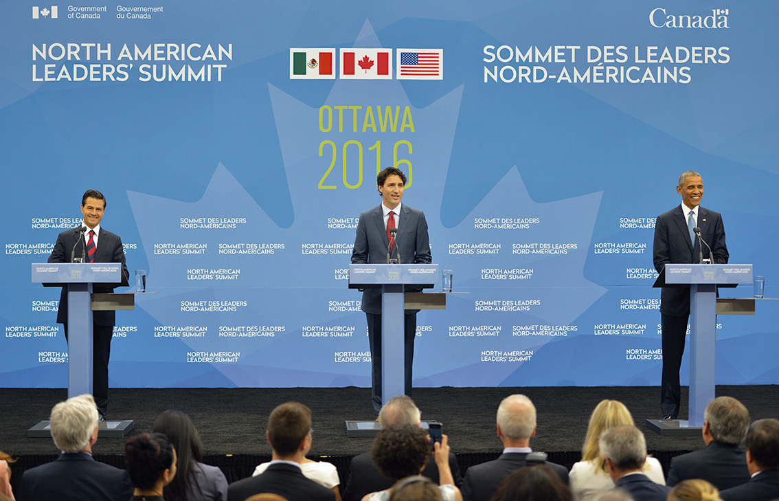 """Photo of """"Trabajamos juntos México, Estados Unidos y Canadá, por la integración económica"""": Enrique Peña Nieto"""