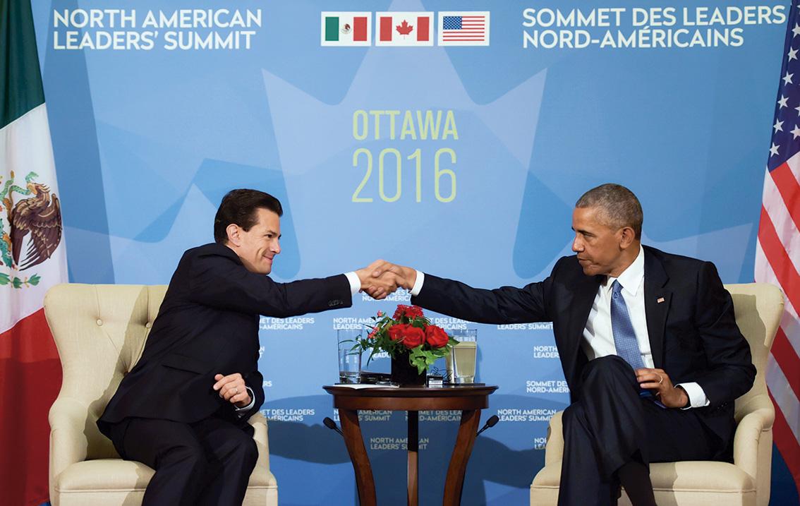 Photo of Reunión EPN – Barack Obama