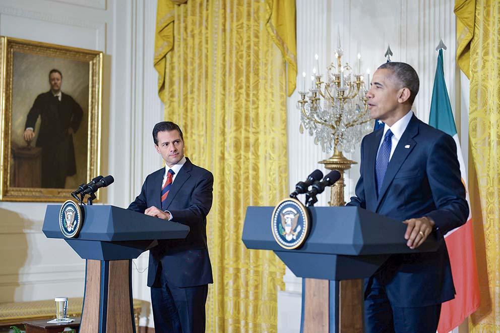 """Photo of """"Estados Unidos valora enormemente nuestra duradera alianza con México, y nuestros extraordinarios lazos de historia y amistad con el pueblo mexicano"""": Barack Obama"""