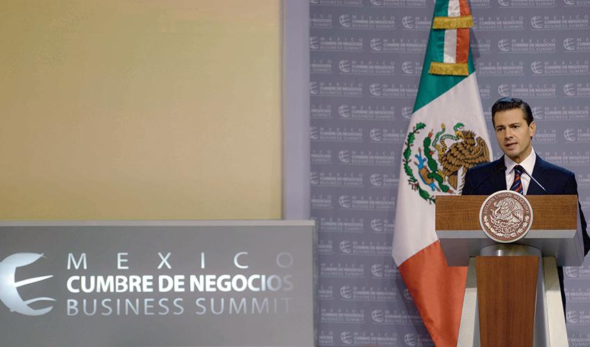 Photo of Llama el Presidente Enrique Peña Nieto a trabajar en unidad, de un sólo lado, por un sólo motivo y una sola razón que se llama México