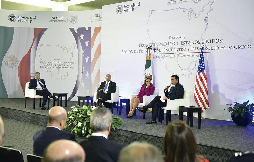 Photo of México y Estados Unidos, sociedades ligadas que se respetan y trabajan de manera coordinada: Osorio Chong