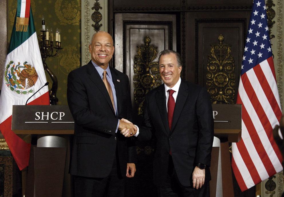 """Photo of """"Amistad, Comercio y Seguridad entre México yLos Estados Unidos """", dice el Procurador Jeh Johnson"""