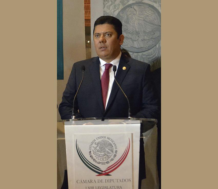 """Photo of """"El Gobierno Mexicano velará por el respeto a los derechos de los migrantes"""": Javier Bolaños Aguilar, Presidente de la Cámara de Diputados"""