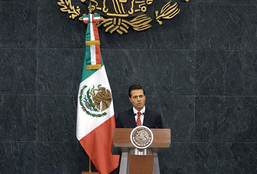 Photo of Mensaje a medios del Presidente, Enrique Peña Nieto, con motivo del proceso electoral en los Estados Unidos de América