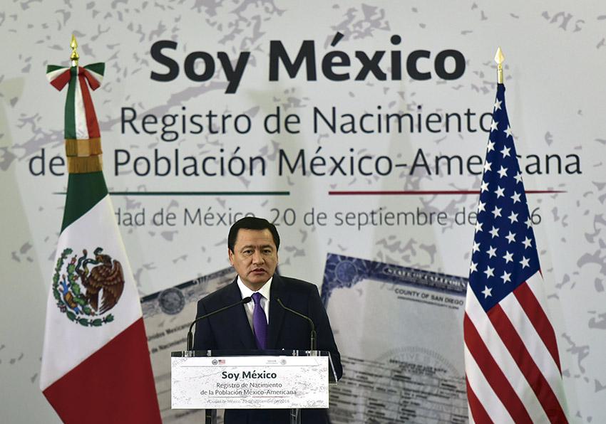Photo of El programa Soy México, Registro de Nacimiento de la Población México-Americana, reconoce la bi-nacionalidad y protege la identidad, destacó Osorio Chong