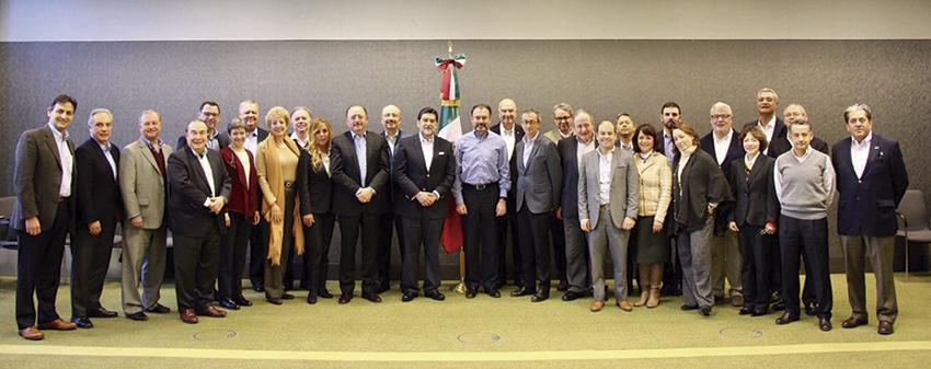 Photo of El Secretario Luis Videgaray Caso se reunió con Embajadores y Cónsules de México en Europa