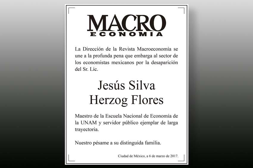 Photo of Esquela Jesús Silva Herzog Flores