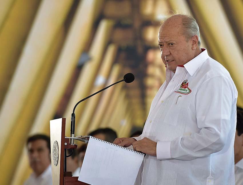 """Photo of """"Los Trabajadores petroleros tienen un compromiso con México y con su Presidente Enrique Peña Nieto"""": Carlos Romero Deschamps (STPRM)"""