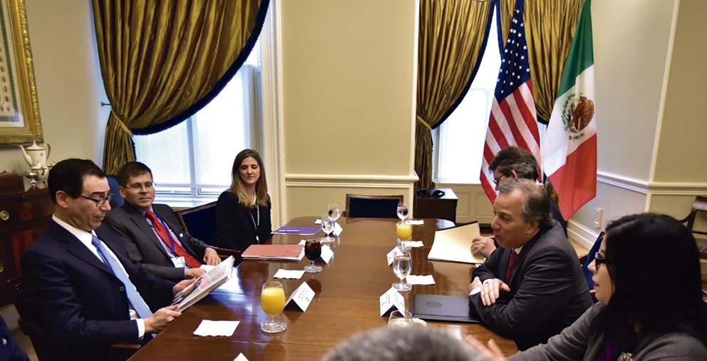 Photo of México y Estados Unidos avanzan en la agenda de cooperación financiera bilateral