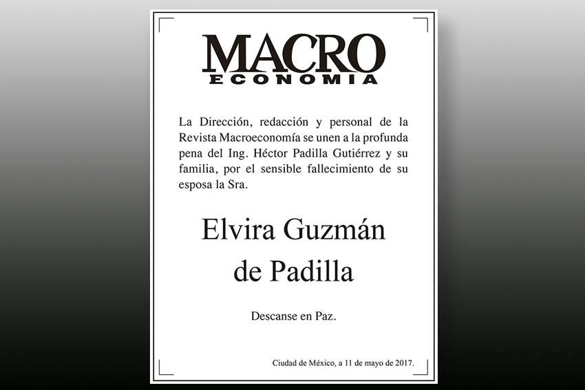 Photo of Descanse en paz Elvira Guzmán de Padilla