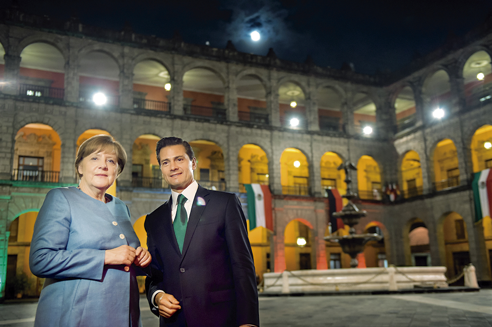 """Photo of """"Con la Canciller de Alemania Angela Merkel, se ha consolidado una productiva relación de trabajo, basada en un diálogo franco y respetuoso"""": Presidente Enrique Peña Nieto"""
