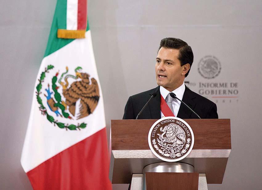 Photo of El Presidente Enrique Peña Nieto responde firmemente a Donald Trump
