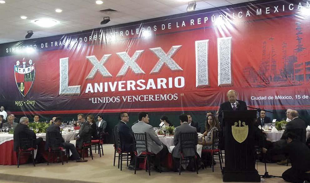 Photo of LXXXII Aniversario del Sindicato de Trabajadores Petroleros de la República Mexicana
