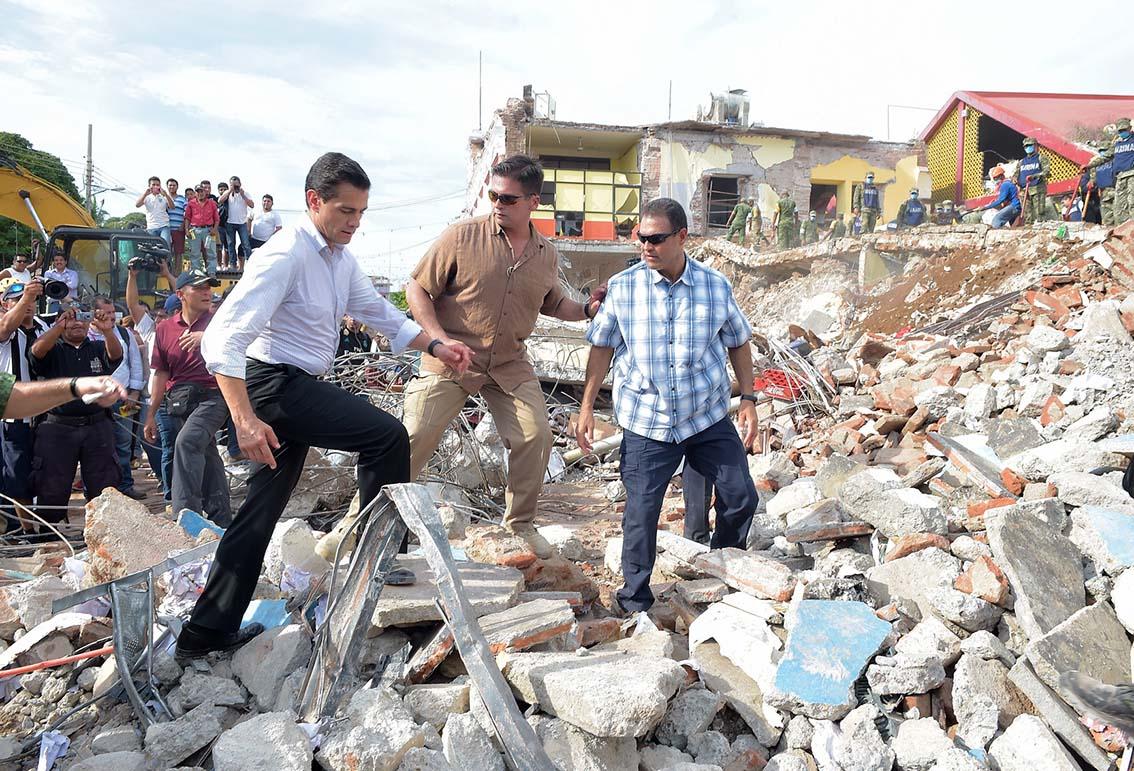 Photo of Apoyo a damnificados en zonas afectadas en Oaxaca por sismo