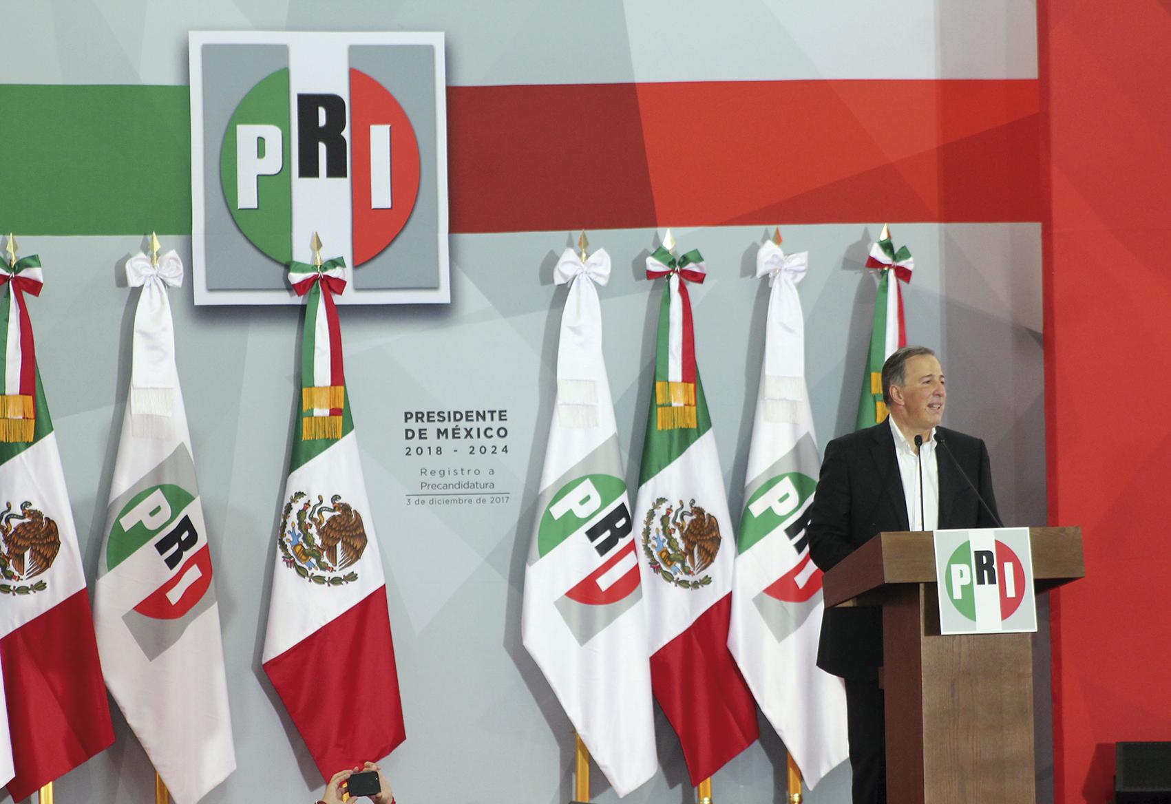 """Photo of """"Vamos a ganar la Presidencia de México"""", dijo Meade a los priístas"""
