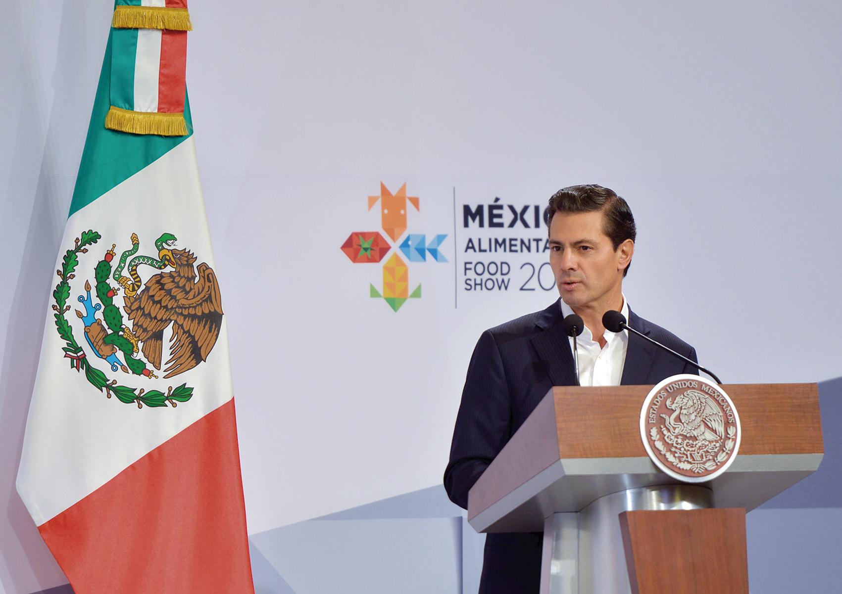 """Photo of """"México es hoy, otra vez, uno de los principales proveedoresde alimentos al mundo"""": Enrique Peña Nieto"""