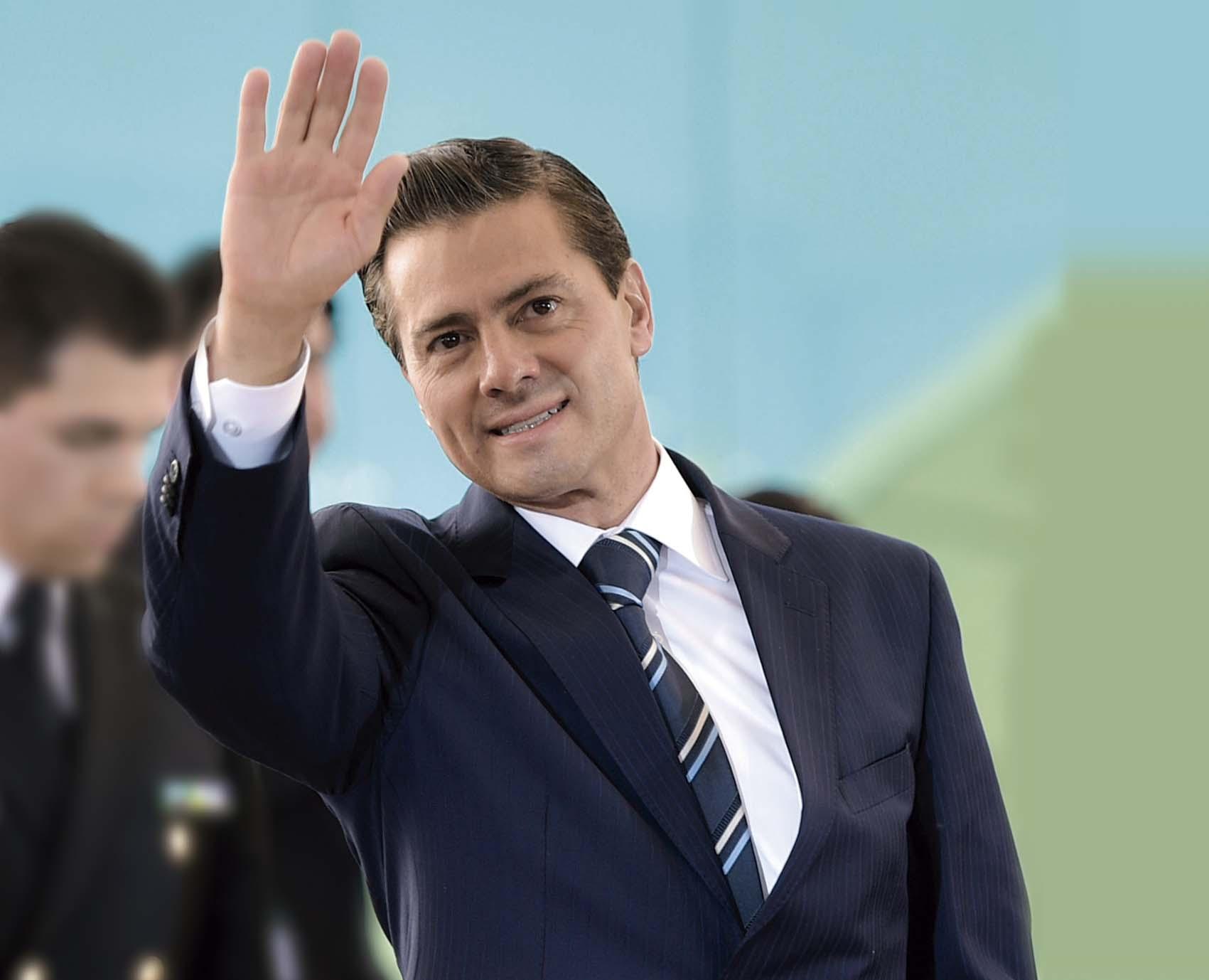 Photo of Con alegría y confianza, el Presidente Enrique Peña Nieto inicia su 6° año de Gobierno