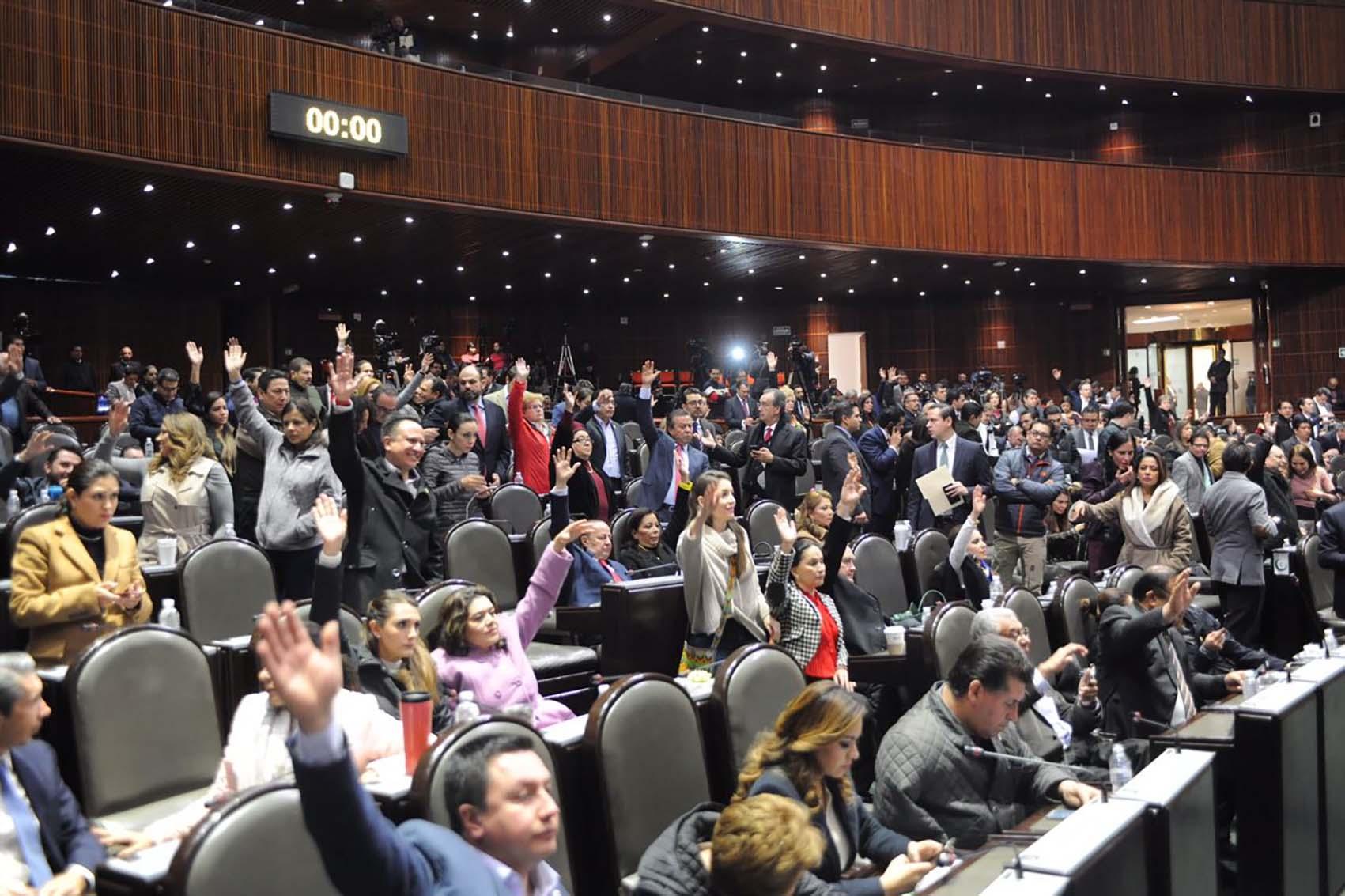 Photo of Cámara de Diputados aprobó la Ley de Seguridad Interior y la envía al Ejecutivo Federal para su publicación