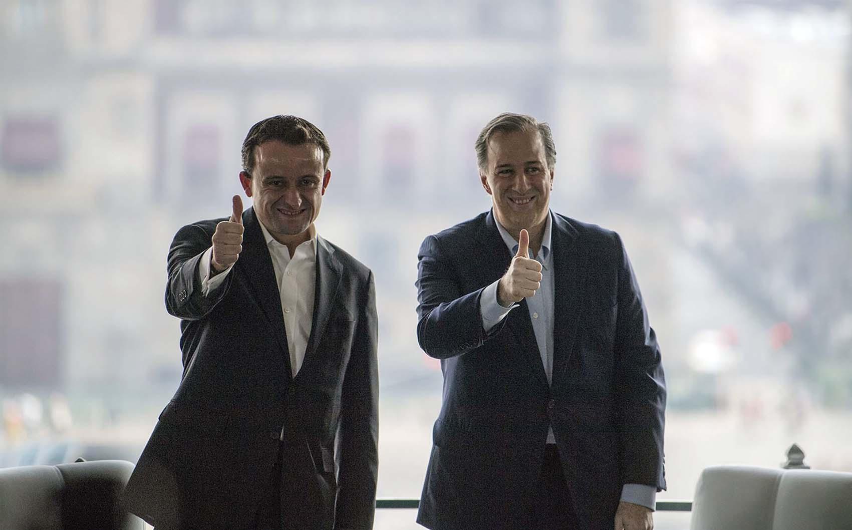 Photo of José Antonio Meade y Mikel Arriola hacen un pacto para modernizar la CDMX