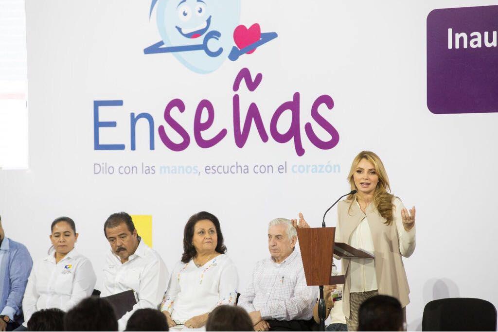 Photo of La presidenta del Consejo Ciudadano Consultivo del DIF NacionalAngélica Rivera de Peña Nieto, reiteró el compromiso del presidente Enrique Peña Nieto con la educación