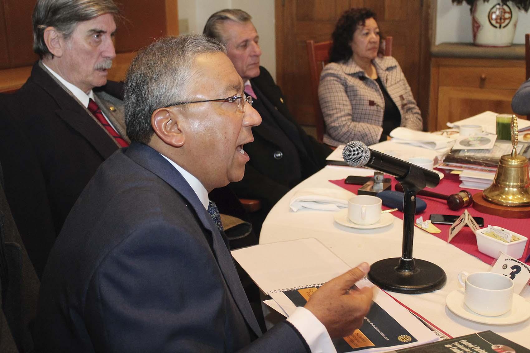 Photo of Ante los Rotarios, Alejandro Romero Gudiño Propone una Política de Estado Anticorrupción