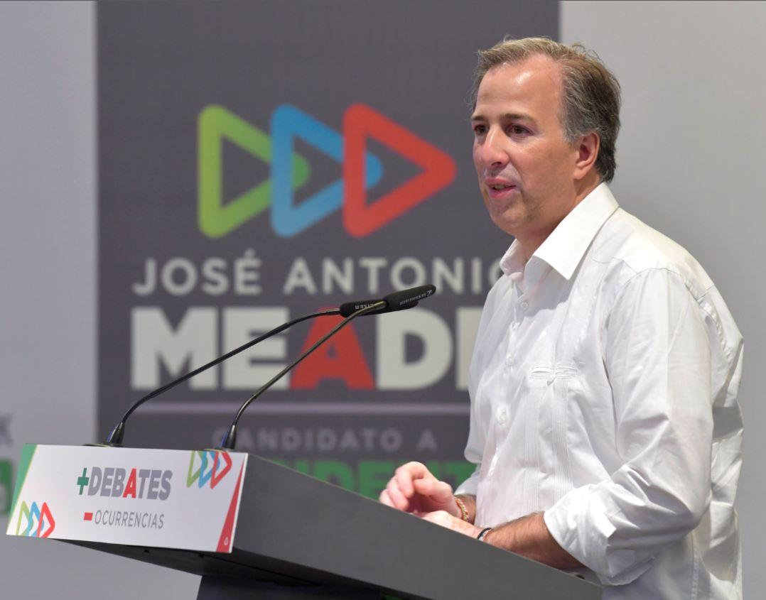 Photo of Mensaje a medios de José Antonio Meade en Acapulco, Guerrero